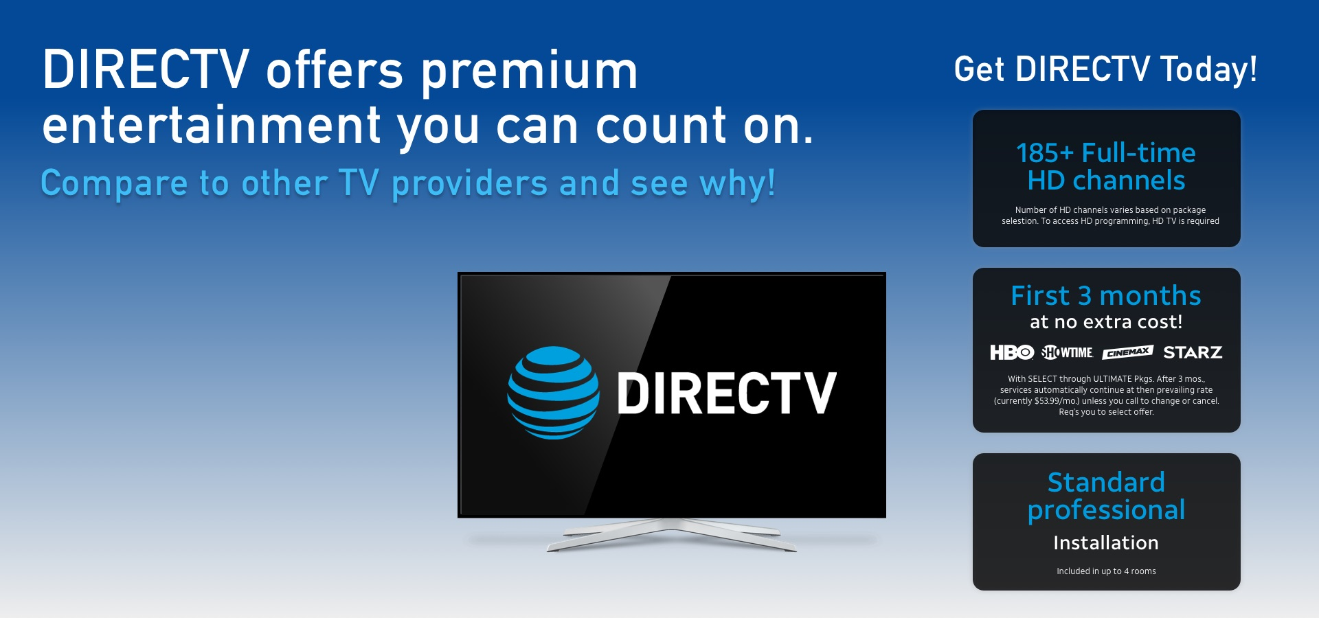 DIRECTV Packages | Call Today!